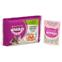 Whiskas Oh So fishy & meaty in jelly pouch cat food