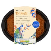 Waitrose Indian Chef's Special lamb lemon & coriander