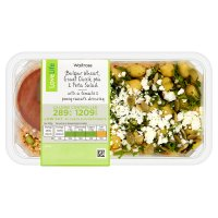 Waitrose LoveLife Bulgar Wheat Chick Pea & Feta Salad
