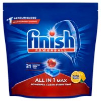 Finish All in One, 34 lemon dishwasher tablets