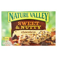 Nature Valley sweet & nutty chocolate bars