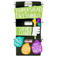 Steve's Leaves 3 super salad dressings