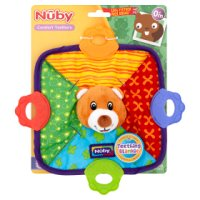 Nuby teething blankie