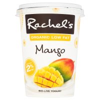 Rachel's organic low fat mango yogurt