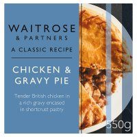 Waitrose roast chicken pie