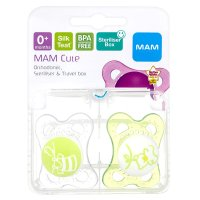MAM clear soother 0 months +
