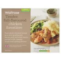 Waitrose chicken forestiere