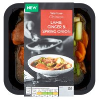 Waitrose Chinese Lamb, Ginger & Spring Onion