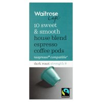 Waitrose Espresso Coffee Pods House Blend