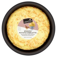 Unearthed free range Spanish potato omelette