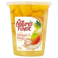 Nature's Finest peach & pear in juice