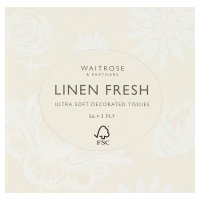 Waitrose linen fresh extra soft tissues