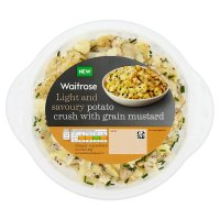 Waitrose Potato Crush with Grain Mustard