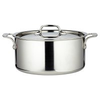 from Waitrose tri-ply lidded casserole pan