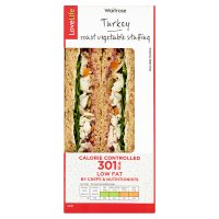 Waitrose LoveLife Turkey Roast Vegetable Sandwich