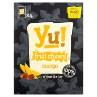 Yu! fruit chews mango