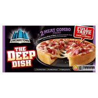 Chicago Town deep dish hotdog pizza