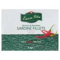 Lusso Vita Sardine Fillets in Olive Oil & Chilli