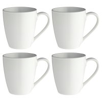 essential Waitrose stoneware mugs, pack of 4