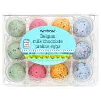 Waitrose Easter Praliné Eggs