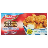 Birds Eye takeaway feasts original chicken popstars