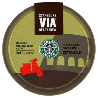 Starbucks Via ready brew Italian roast extra bold