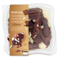 Waitrose chocolate brownie cream pie chaos