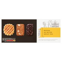 Waitrose 1 Belgian all butter biscuit trio