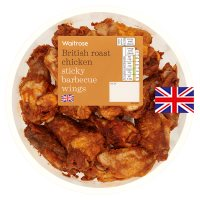Waitrose Roast Chicken Sticky Barbecue Wings