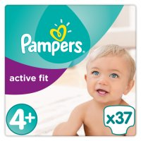 Pampers active fit maxi+ 4+ 9-20kg