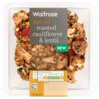 Waitrose cauliflower & lentil
