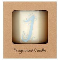 Waitrose Alphabet J Coconut & Sandalwood Candle