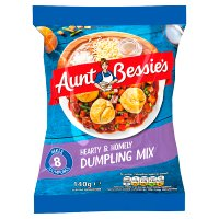 Aunt Bessie's hearty dumpling mix