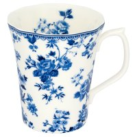 Duchy Originals from Waitrose china blue lattice mug