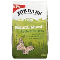 Jordans natural muesli apple & sultana