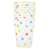 Candy spot paper cups
