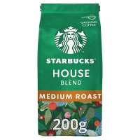 Starbucks house blend medium Arabica coffee