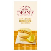 Dean's shortbread lemon curd