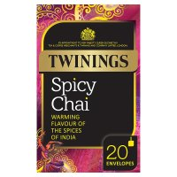 Twinings spicy chai 20 envelopes