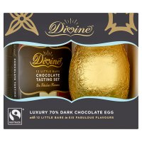 Divine Fairtrade Luxury 70% Dark Chocolate Egg 340g