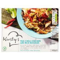Kirsty's Thai chilli chicken with rice noodles