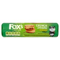 Fox's Crunch Creams Ginger