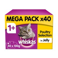 Whiskas 1+ Years Poultry Selection in Jelly