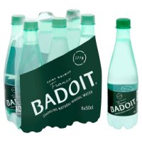 Badoit sparkling mineral water