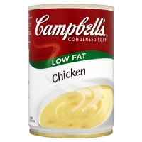 Campbell's condensde low fat chicken soup