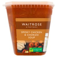 Waitrose chicken & chorizo soup