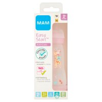 Mam 260ml 0month+ anti colic bottle, assorted