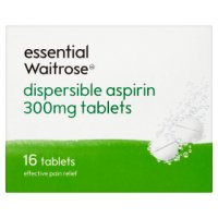 essential Waitrose dispersible aspirin
