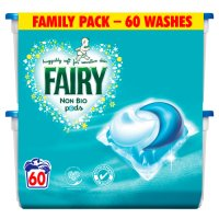 Fairy Non Bio Pods Family Pack 60 washes