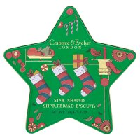 Crabtree & Evelyn Star Shaped Shortbread Biscuits